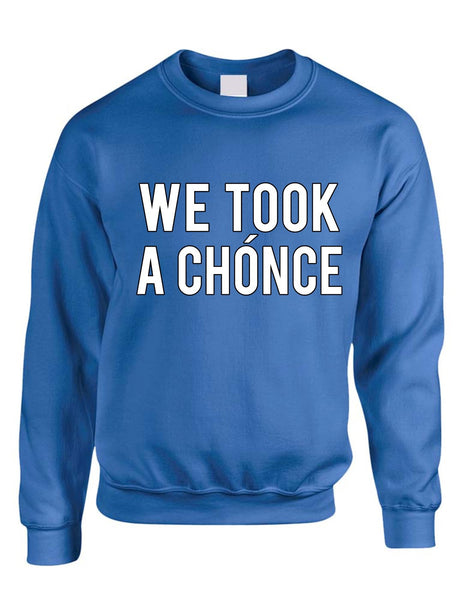 Niall Horan We took a chonce Women's Sweatshirt - ALLNTRENDSHOP - 1