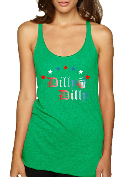 Women's Tank Top Dilly Dilly 4th Of July Cool Cheers Love USA Flag