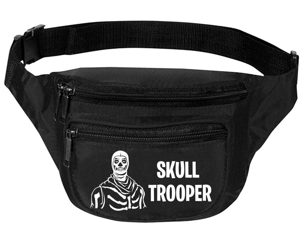 Adult Waist Pack Skull Trooper Funny Travel Bag Cool Trendy Packs