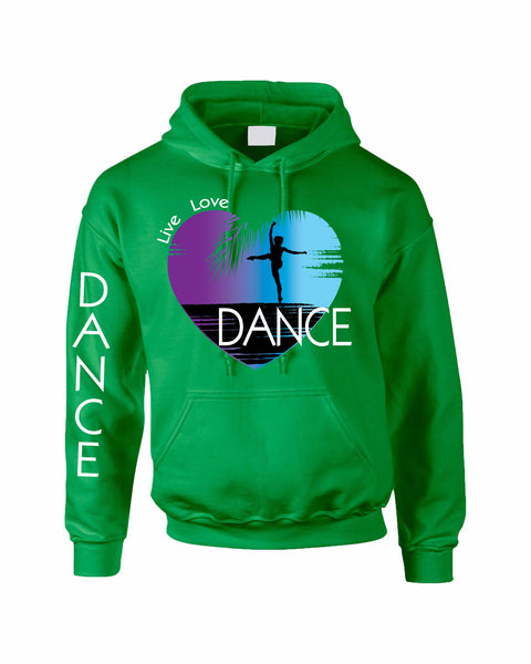 Adult Hoodie Dance Art Purple Print Love Cute Top Nice Gift - ALLNTRENDSHOP - 5