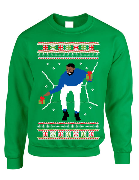 Adult Crewneck 1-800 Hotline Bling Ugly Christmas Sweater - ALLNTRENDSHOP - 4