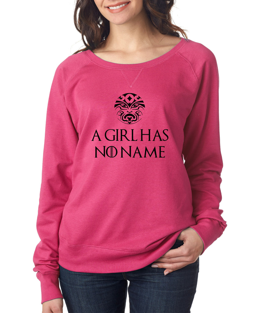 A Girl Has No Name women long sleeve pullover - ALLNTRENDSHOP