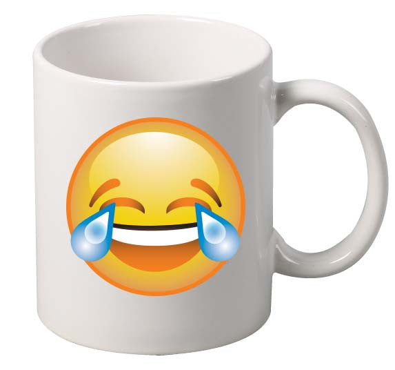 laugh Face  Emoji Emoticon Mug - ALLNTRENDSHOP