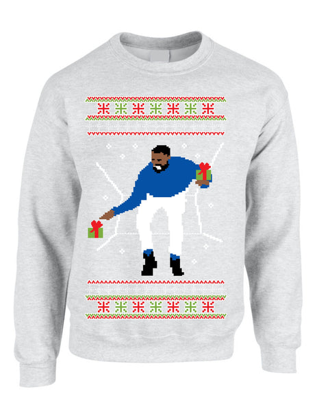 Adult Crewneck 1-800 Hotline Bling Ugly Christmas Sweater - ALLNTRENDSHOP - 3