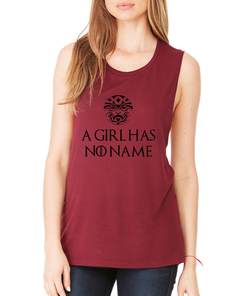 A Girl Has No Name women Flowy Scoop Muscle Tank - ALLNTRENDSHOP