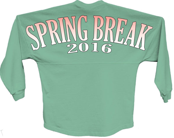Spring break 2016 orange pom print J america shirt - ALLNTRENDSHOP - 4