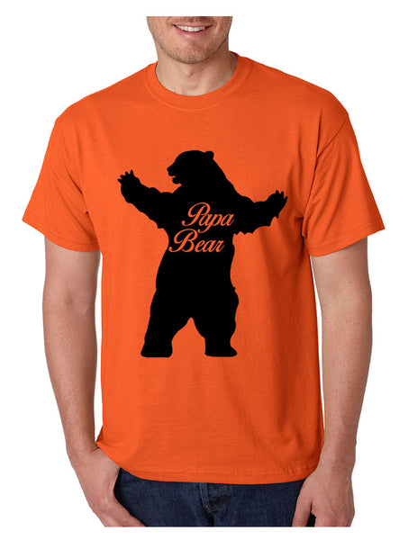 Men's T Shirt Papa Bear Family Shirt For Dad Xmas Cute Gift - ALLNTRENDSHOP - 3