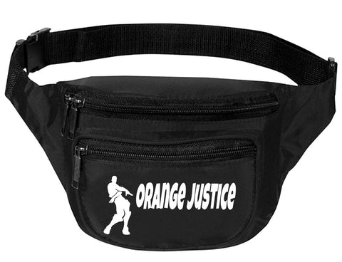 Adult Waist Pack Orange Justice Trendy Sport Pack Dance Move Packs