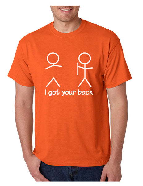 Men's T Shirt I Got Your Back Cool Sarcasm Tee Shirt
