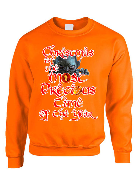 Adult Sweatshirt Christmas Is The Most Precious Time Holiday Gift