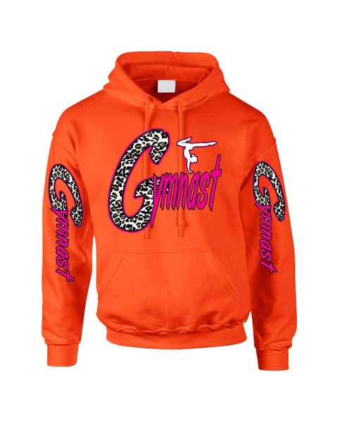 Gymnast White Leopard women's Hoodies - ALLNTRENDSHOP