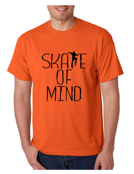 Men's T Shirt Skate Of Mind Skating Skateboard Lovers