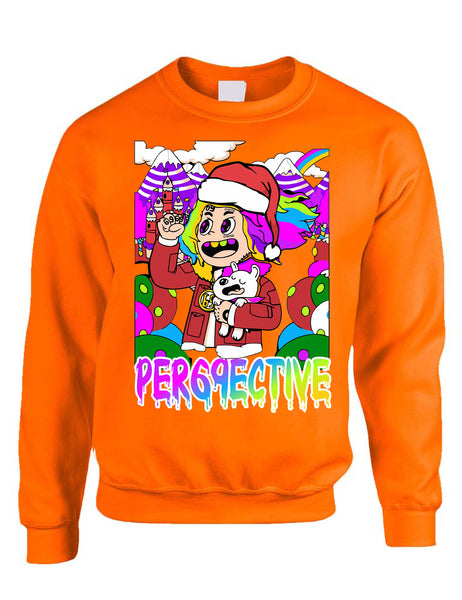 Adult Sweatshirt 69 Christmas Ugly Sweatshirt Trendy Xmas Top Gift