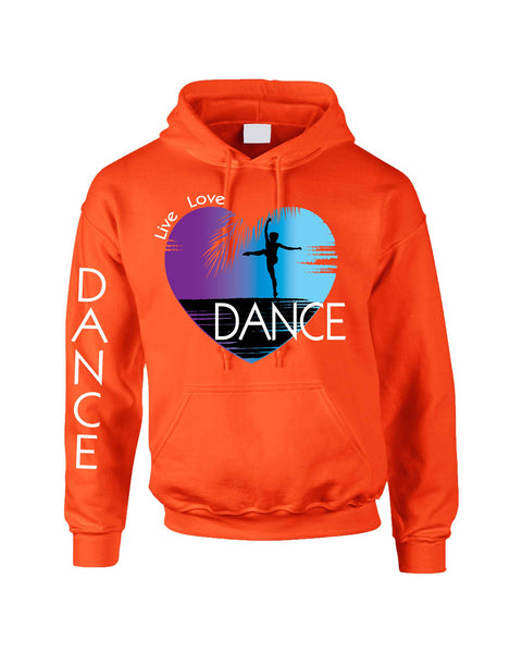 Adult Hoodie Dance Art Purple Print Love Cute Top Nice Gift - ALLNTRENDSHOP - 4