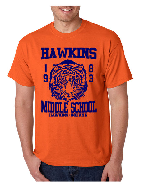 Men's T Shirt Hawkins Middle School 1983 - ALLNTRENDSHOP - 3