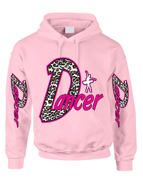 Dancer White Leopard women's Hoodies - ALLNTRENDSHOP