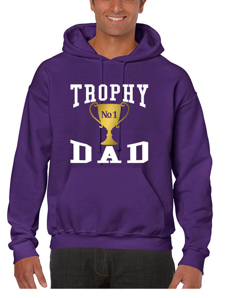 Men's Hoodie Trophy Dad Love Father Shirt Daddy Cool Gift - ALLNTRENDSHOP - 4