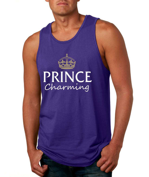 Men's Tank Top Prince Charming Cool Funny Humor Top - ALLNTRENDSHOP - 4