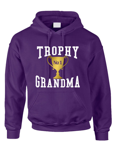 Adult Hoodie Trophy Grandma Cool Xmas Love Family Gift Top - ALLNTRENDSHOP - 3