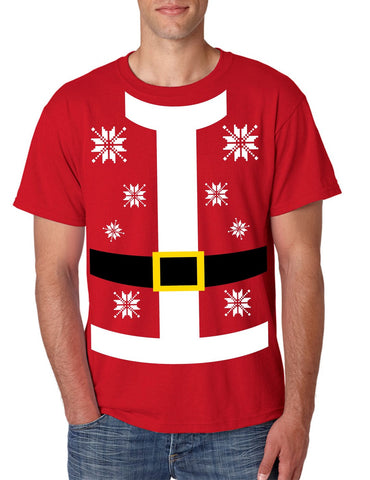 Santa suit Men's T-shirt - ALLNTRENDSHOP - 1