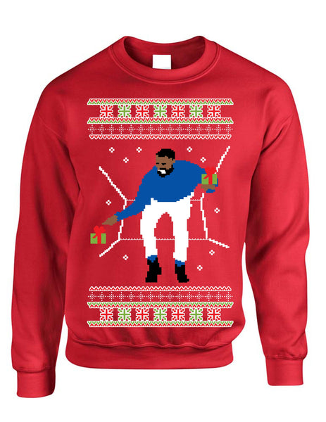 Adult Crewneck 1-800 Hotline Bling Ugly Christmas Sweater - ALLNTRENDSHOP - 1