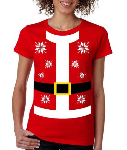 Santa suit Women's T-shirt - ALLNTRENDSHOP - 1