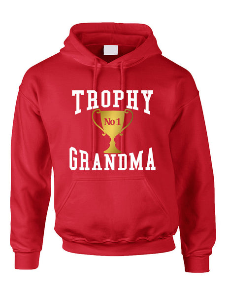 Adult Hoodie Trophy Grandma Cool Xmas Love Family Gift Top - ALLNTRENDSHOP - 2