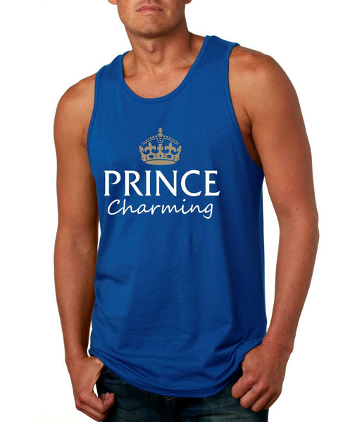 Men's Tank Top Prince Charming Cool Funny Humor Top - ALLNTRENDSHOP - 6