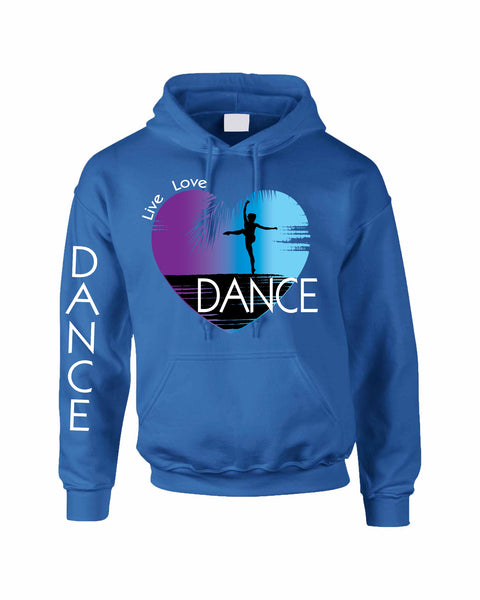 Adult Hoodie Dance Art Purple Print Love Cute Top Nice Gift - ALLNTRENDSHOP - 1