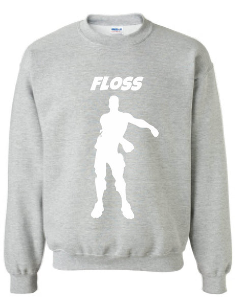 Adult Sweatshirt Floss White Flossing Trending Dance Gift Dancer Top