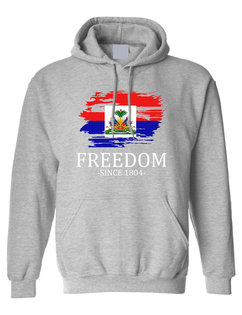 Adult Hoodie Haiti Freedom Since 1804 Haitian Top Love Haiti Gift
