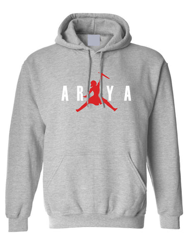 Adult Hoodie Air Arya Trendy Graphic Stark Top Popular Sweatshirt