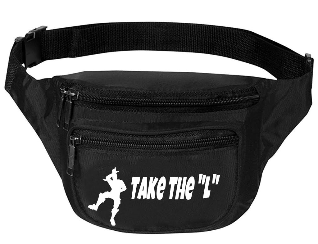 Adult Waist Pack Take The L Trendy Sport Pack Cool Dance Bag Fun Pack