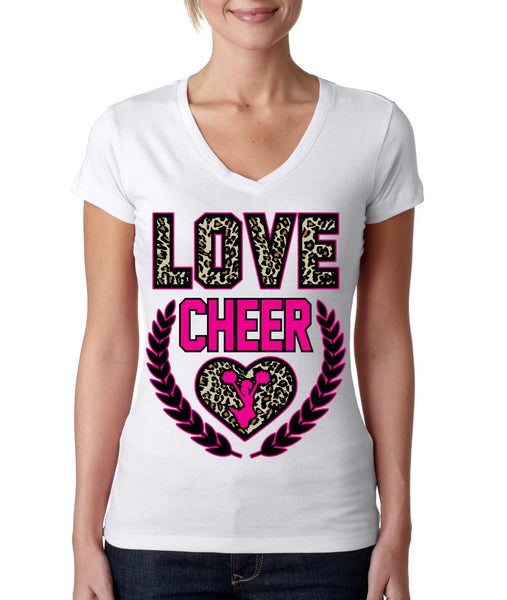 Love Cheer Leopard Womens Sporty V - ALLNTRENDSHOP - 4