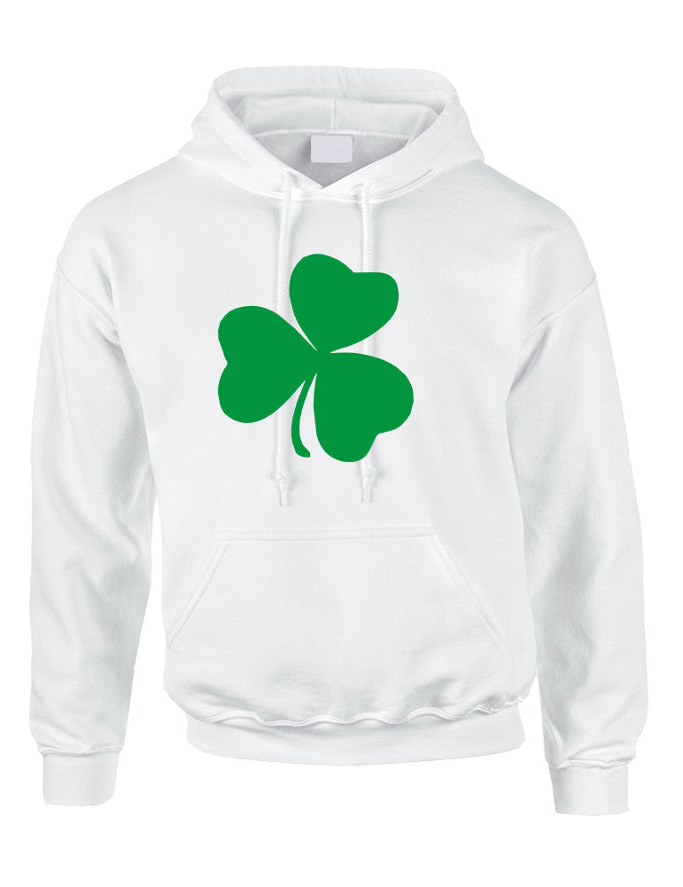 Adult Hoodie Green Shamrock Graphic St Patrick's Day Top - ALLNTRENDSHOP - 1