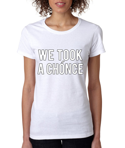 One Direction Niall Horan We took a chonce Women's T-shirt - ALLNTRENDSHOP - 3