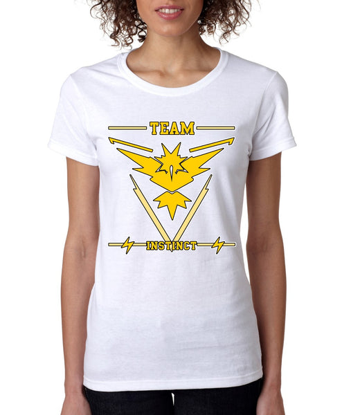 Team Yellow Instinct womens t-shirt