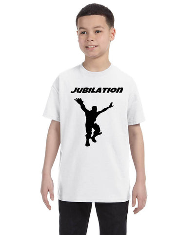 Kids Youth T Shirt Jubilation Dance Trendy Danceing Move Funny Gift
