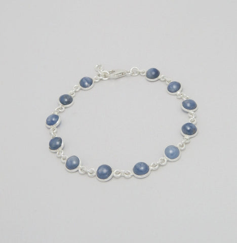 Kyanite Sterling Silver Bracelet
