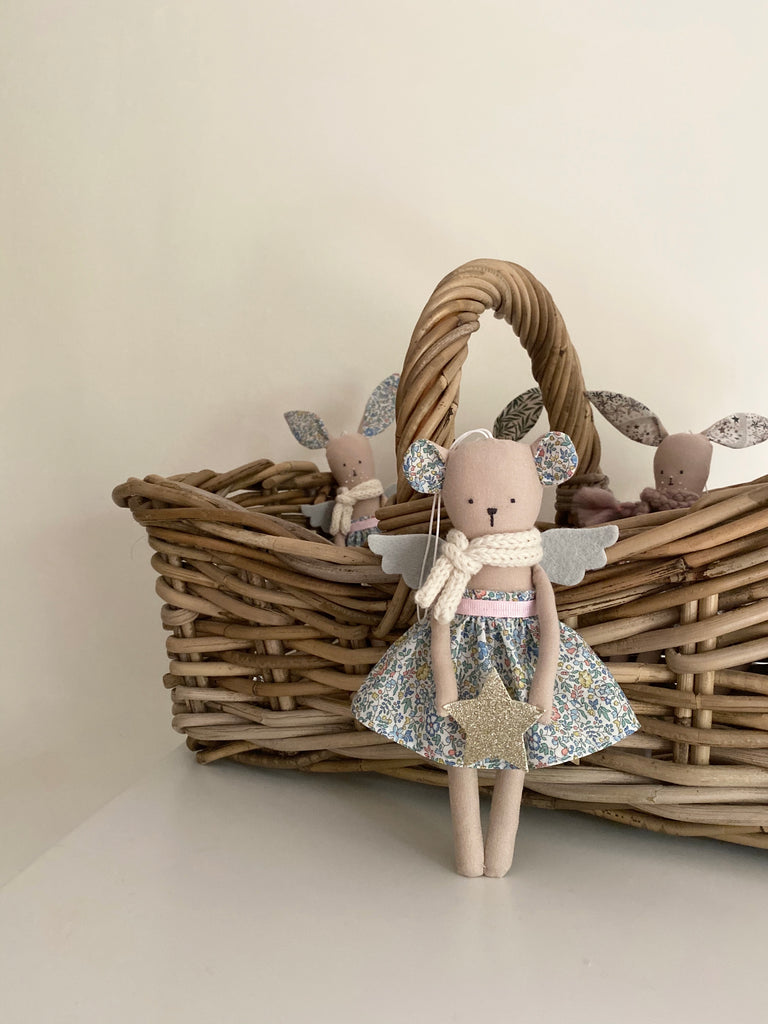 TillyBob Angel Decoration - ready to ship (Bear)