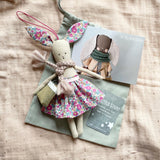 TillyBob Easter Bunny Decoration - ready to ship (Spotty print)