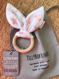 SALE. TillyBob Teether - Pink Cross