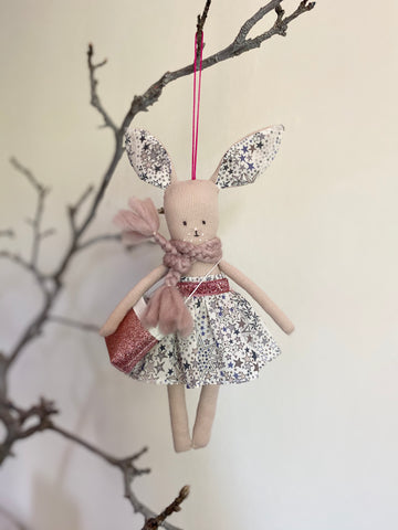 TillyBob Easter Bunny Decoration - ready to ship