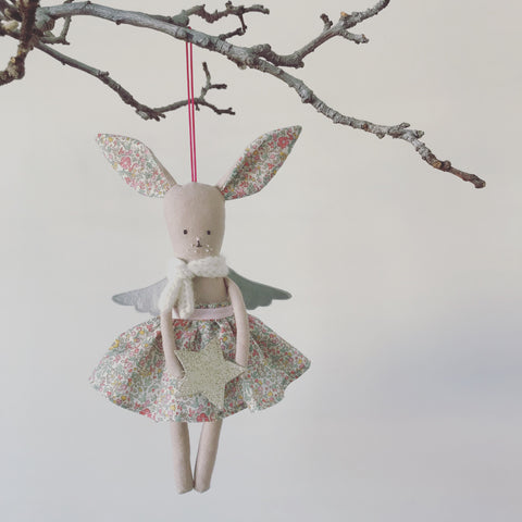 PRE ORDER - TillyBob Angel hanging decoration.
