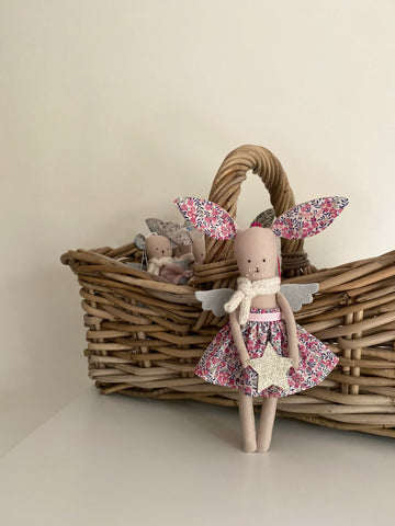 TillyBob Angel Decoration - ready to ship (Wiltshire Bud)