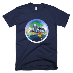 EARTH DAY - Men's Short-Sleeve T-Shirt