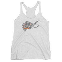 THE SHAKESPEARE ELEPHANT Women's Racerback Tank Top