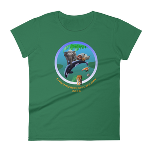 ENDANGERED SPECIES DAY - Women's short sleeve t-shirt
