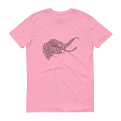 THE SHAKESPEARE ELEPHANT Short Sleeve T-shirt