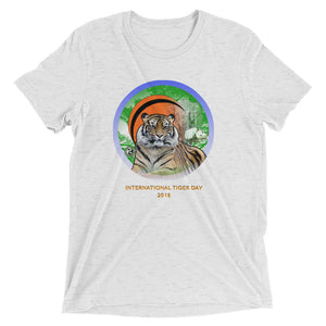 International Tiger Day - Men's Short sleeve t-shirt - EU